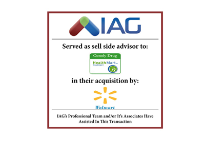IAG Sells Conoly Drug Business To Walmart Levine TX