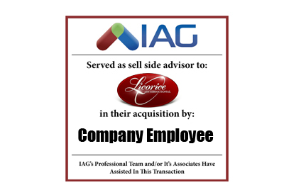 iag sells business to employees